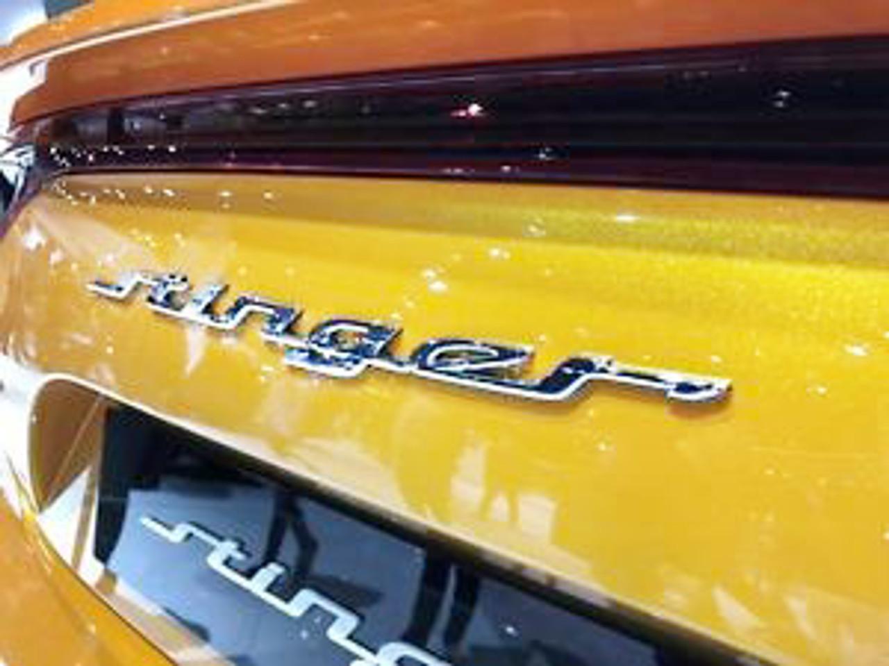 Kia Stinger Emblem Kit - Trunk Emblem