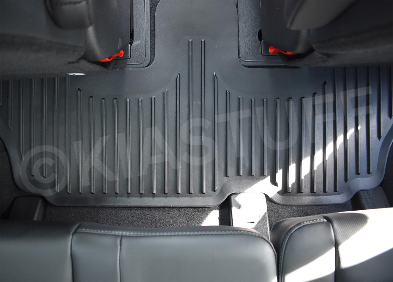 2020-2021  Kia Telluride Rubber Floor Mats