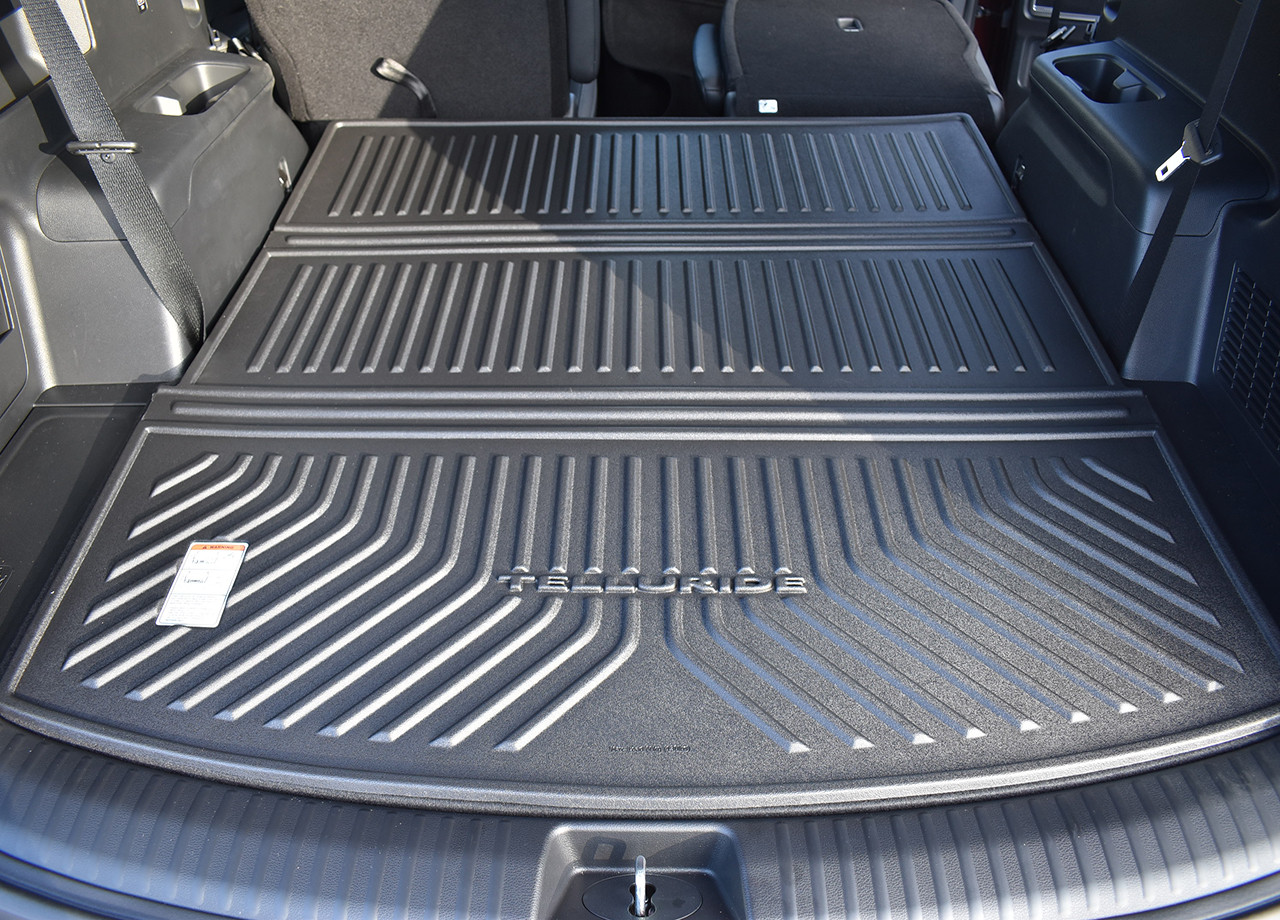 2020-2021 Kia Telluride Folding Cargo Tray, when third row is down