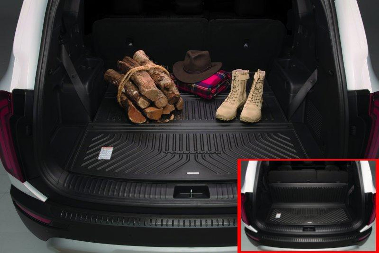 2020-2021 Kia Telluride Folding Cargo Tray - Stock Photo