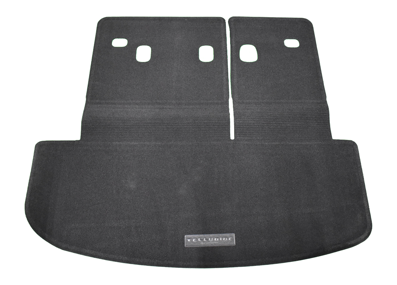 2020-2022 Kia Telluride Carpeted Cargo Mat With Seat Back Protection