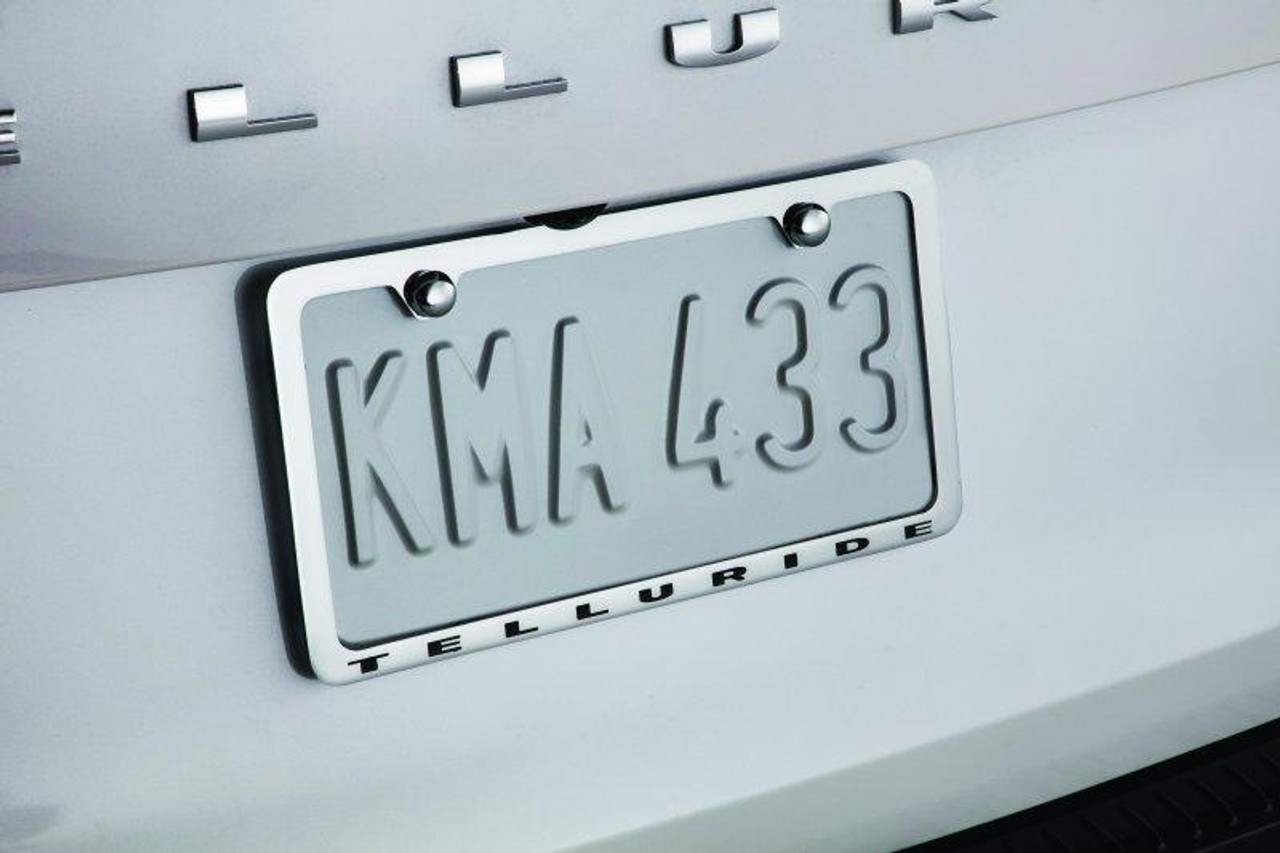 Telluride Licence Plate Frame