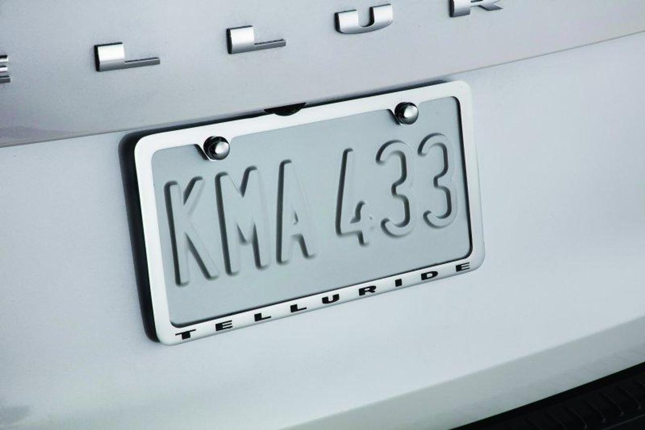 2020-2022 Telluride License Plate Frame