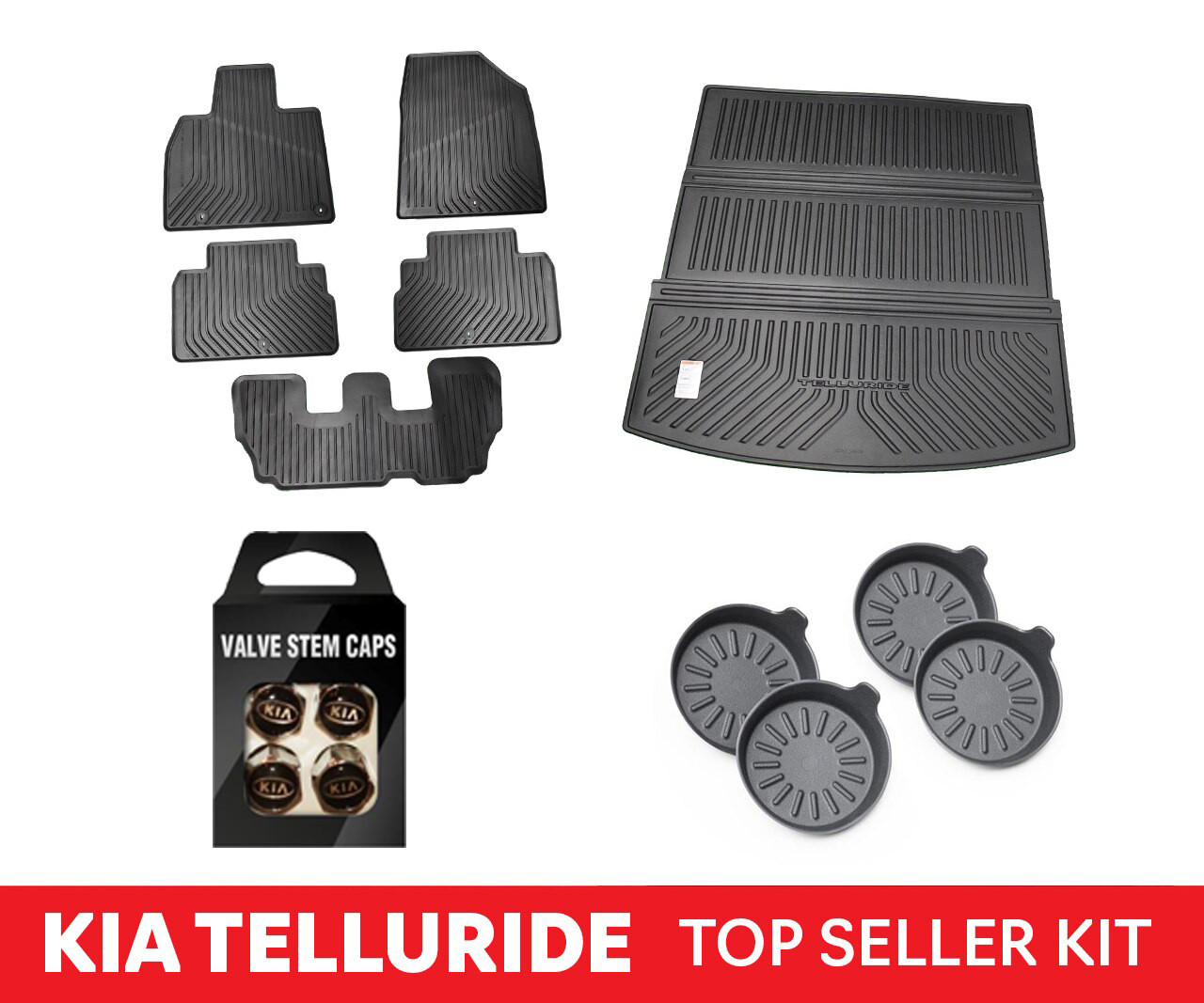 2020-2022 Top Selling Kia Telluride Accessories Kit