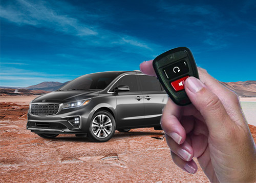remote start push button