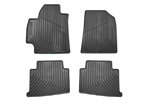 2021 Kia Seltos Rubber Floor Mats - Full Set