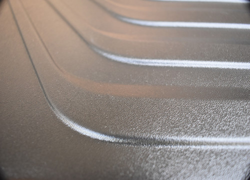 2021 Kia K5 Rubber Cargo Tray (Close Up of Texture)