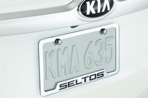 Kia Seltos Licence Plate Frame