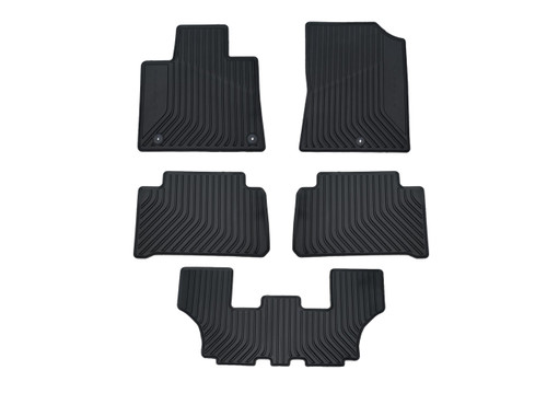 2021 Kia Sorento All-Weather Floor Mats - Full Set