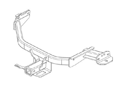 2021-2022 Kia Sorento Tow Hitch - Installation Instructions Image