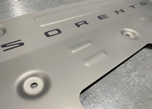 2021-2022 Kia Sorento Skid Plate - Close Up
