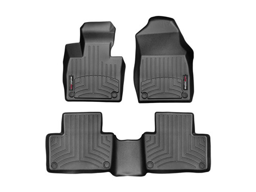 2022 Kia Carnival WeatherTech FloorLiners - 1st and 2nd Row (Representational Image)