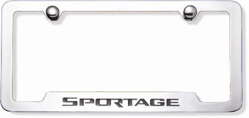 Kia Sportage License Plate Frame
