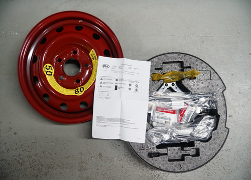2014-2016 Kia Forte Spare Tire Kit
