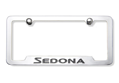Kia Sedona License Plate Frame