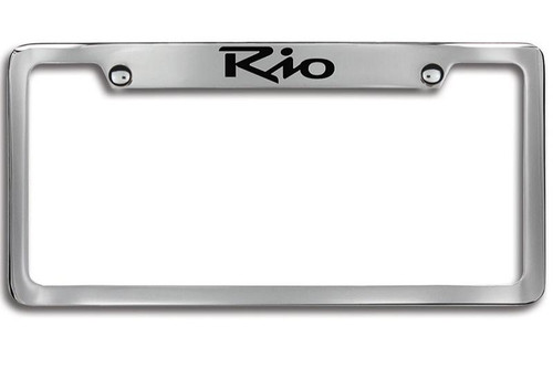 Kia Rio License Plate Frame - Upper Logo