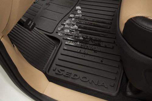 2015-2020 Kia Sedona Rubber Floor Mats