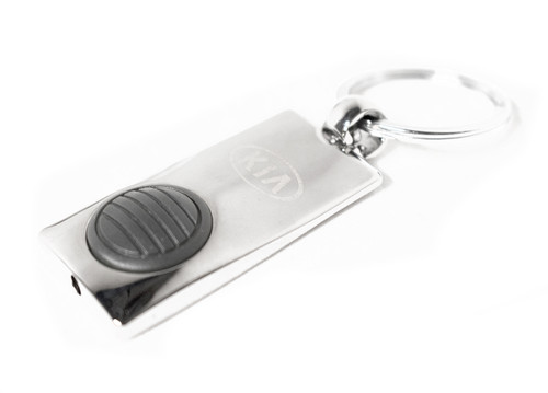 Kia Push Button Light-up Keychain