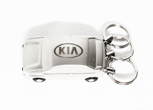 Kia Car with Light Keychain