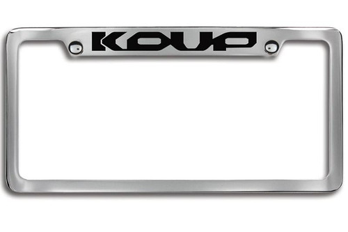 Kia Forte Koup Upper Logo License Plate Frame