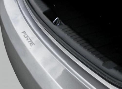 Kia Forte Rear Bumper Protector