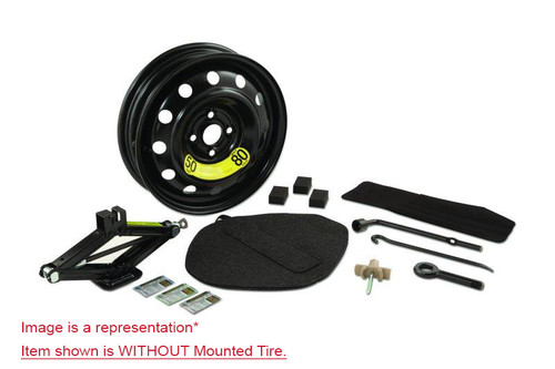 2012-2016 Kia Rio Spare Tire Kit - OPTION 1 - WITHOUT TIRE