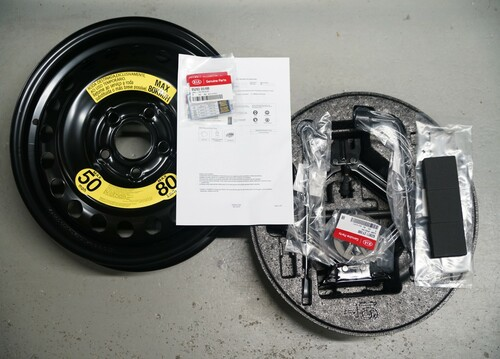 2016-2018 Kia Optima Spare Tire Kit