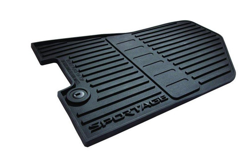 2017-2022 Kia Sportage Rubber Floor Mats (Kia Branded)
