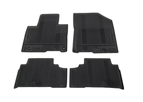 2016-2020 Kia Sorento Rubber Floor Mats - Full Set