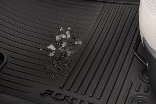 2014-2018 Kia Forte Rubber Floor Mats
