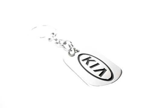 Kia Dog Tag Keychain