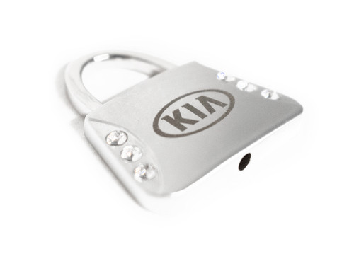 Kia Purse with Crystals Keychain