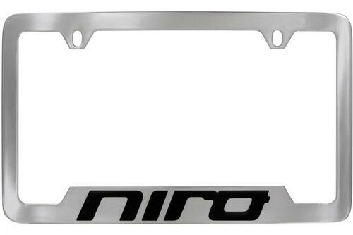Kia Niro License Plate Frame - Lower Logo