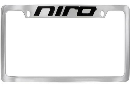 Kia Niro License Plate Frame - Upper Logo