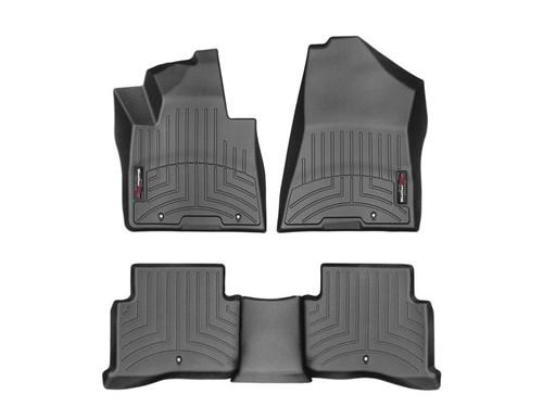 Kia Sportage WeatherTech FloorLiners - Black