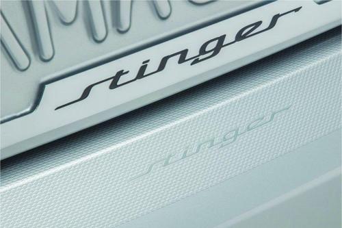 2018-2022 Kia Stinger Rear Bumper Protector Film