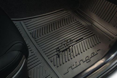 2018-2022 Kia Stinger Rubber Floor Mats