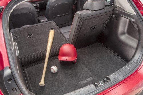 Kia Rio5 Cargo Mat with Seat Back Protector