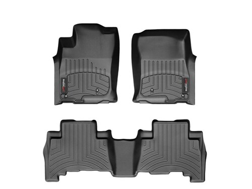 2015-2017 Kia Soul EV WeatherTech Floor Liners - Full Set (Black)