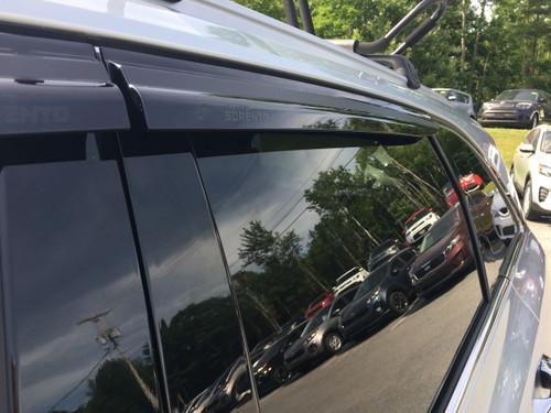 Aftermarket Kia Rain Guards - Rear