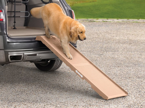 WeatherTech Foldable Pet Ramp - PetStep - Khaki