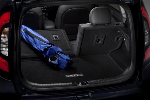 2017-2022 Kia Niro Cargo Mat with Seat Back Protector (representational image)