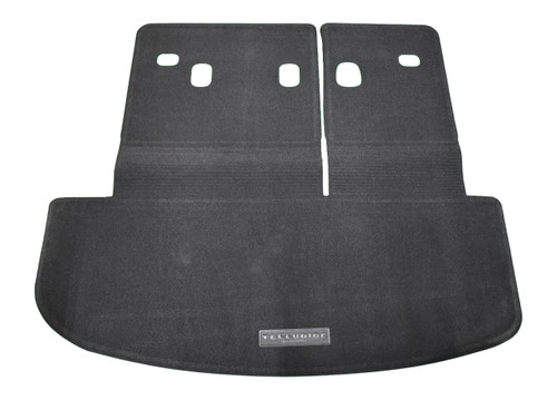 2020 Kia Telluride Carpeted Cargo Mat With Seat Back Protection