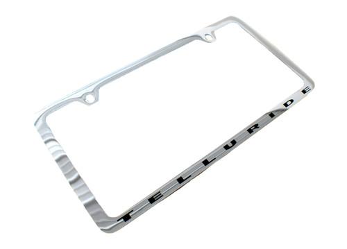 2020-2021 Telluride License Plate Frame