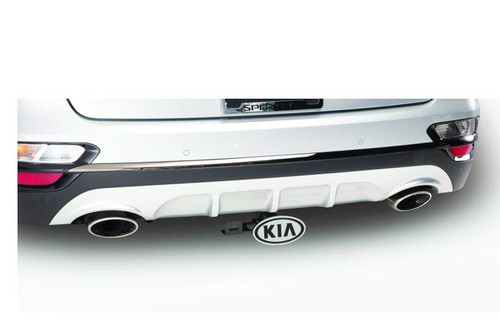Kia Sportage Tow Hitch Chrome Cover