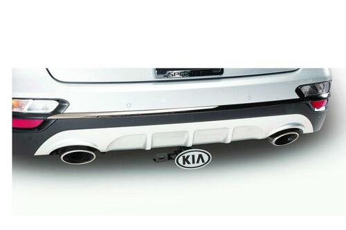2020-2021 Kia Sportage Tow Hitch Chrome Cover