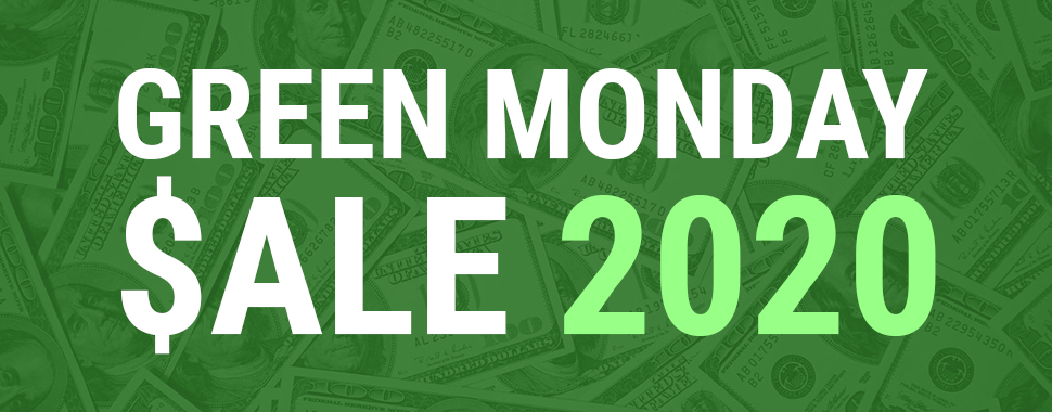 Green Monday Sale 2020