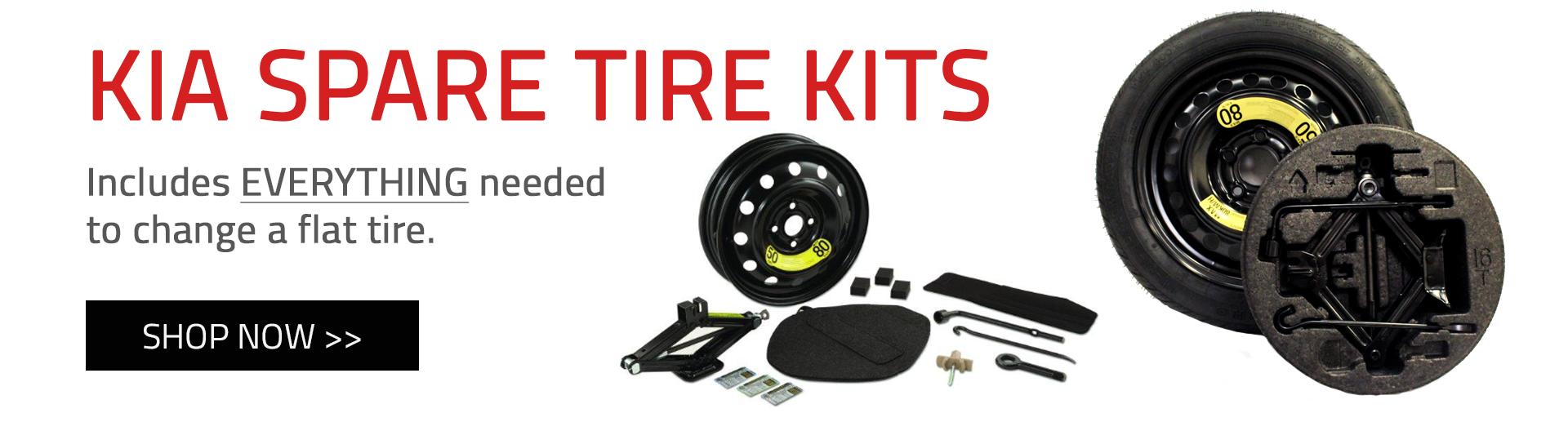 Kia Spare Tire Kits