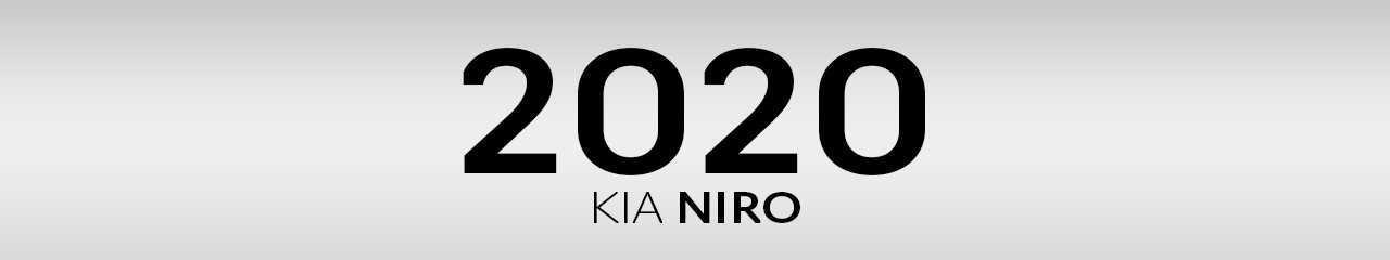 2020 Kia Niro Accessories and Parts