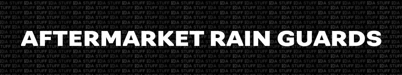 Aftermarket Kia Rain Guards